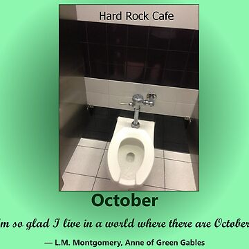 Toilets of New York 2015 October - Hard Rock Cafe by newbs