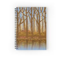 Forest in the Fall Spiral Notebook