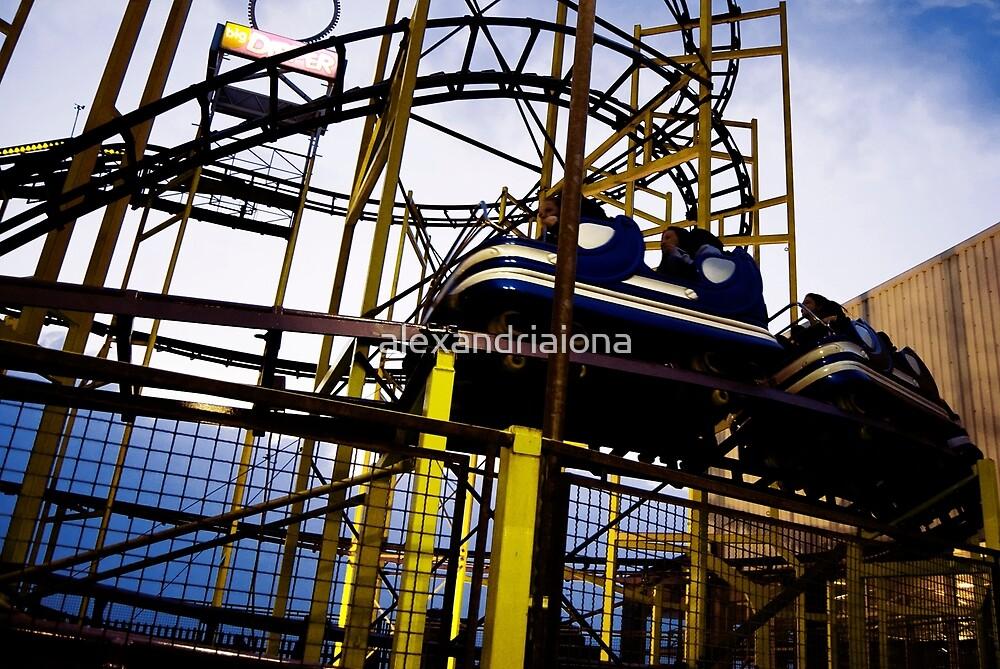 Barrys Amusements Roller coaster by alexandriaiona