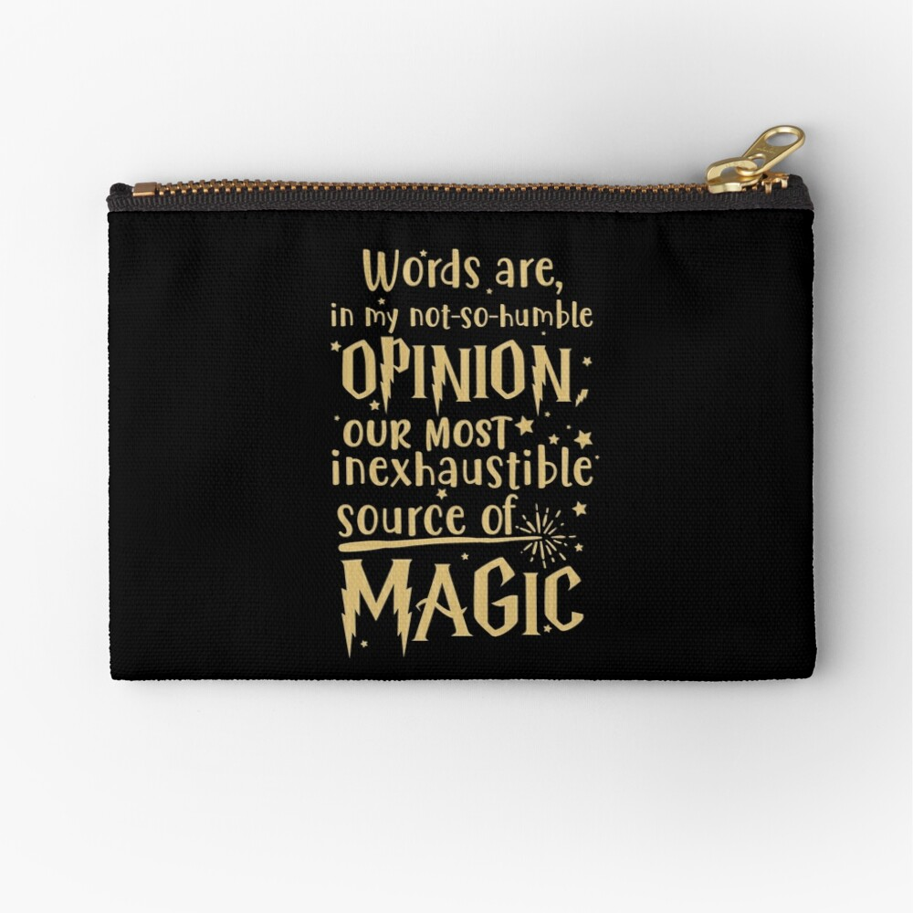 Inexhaustible source of magic Zipper Pouch