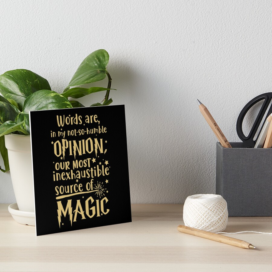 Inexhaustible source of magic Art Board Print