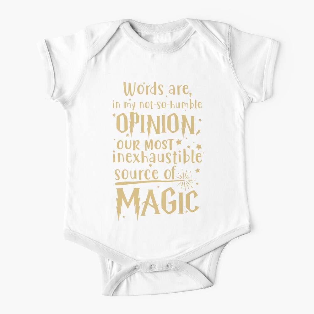 Inexhaustible source of magic Baby One-Piece