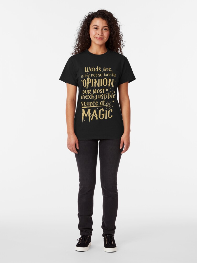 Alternate view of Inexhaustible source of magic Classic T-Shirt