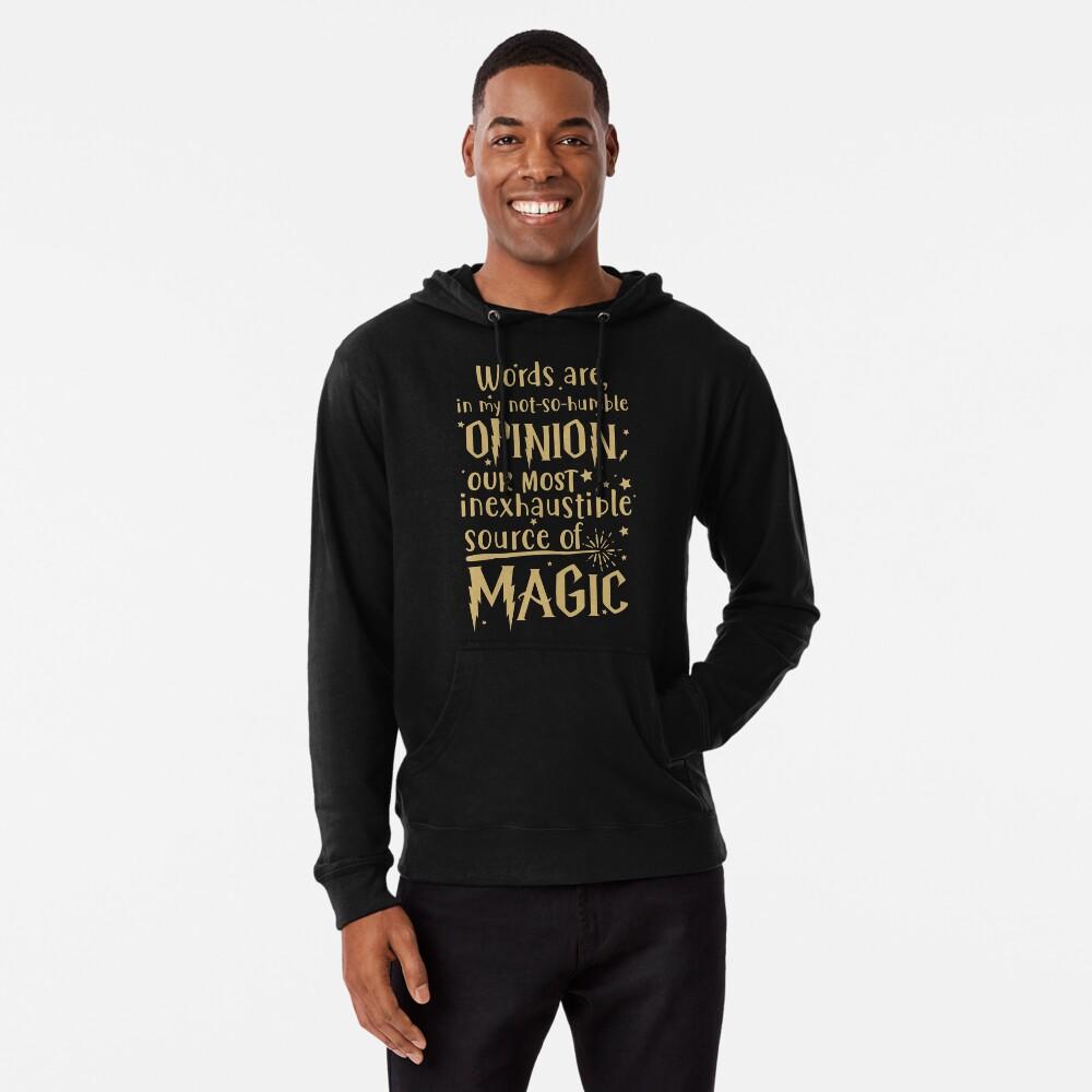 Inexhaustible source of magic Lightweight Hoodie