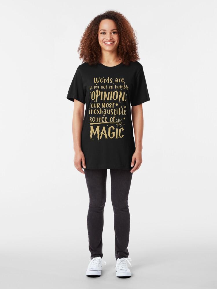 Alternate view of Inexhaustible source of magic Slim Fit T-Shirt