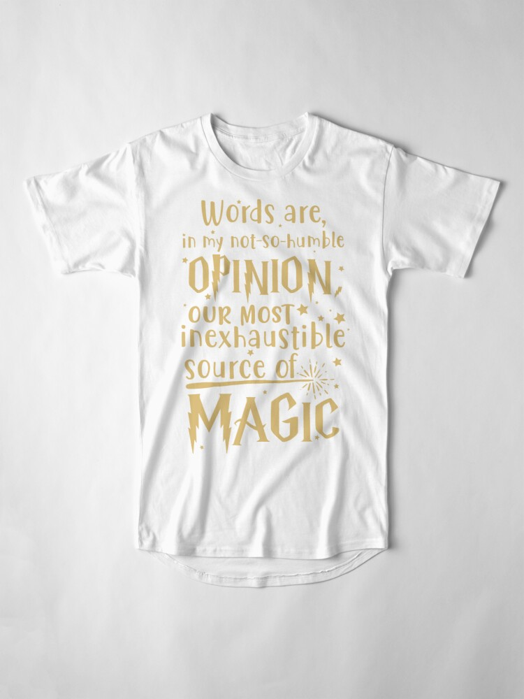 Alternate view of Inexhaustible source of magic Long T-Shirt