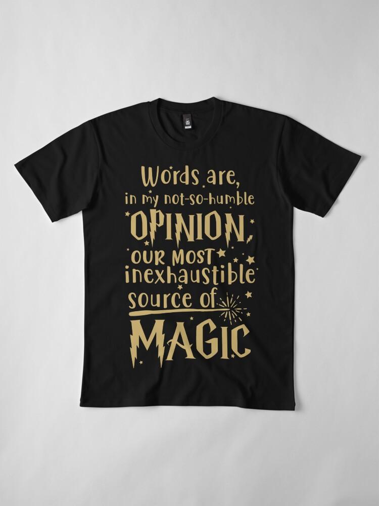 Alternate view of Inexhaustible source of magic Premium T-Shirt