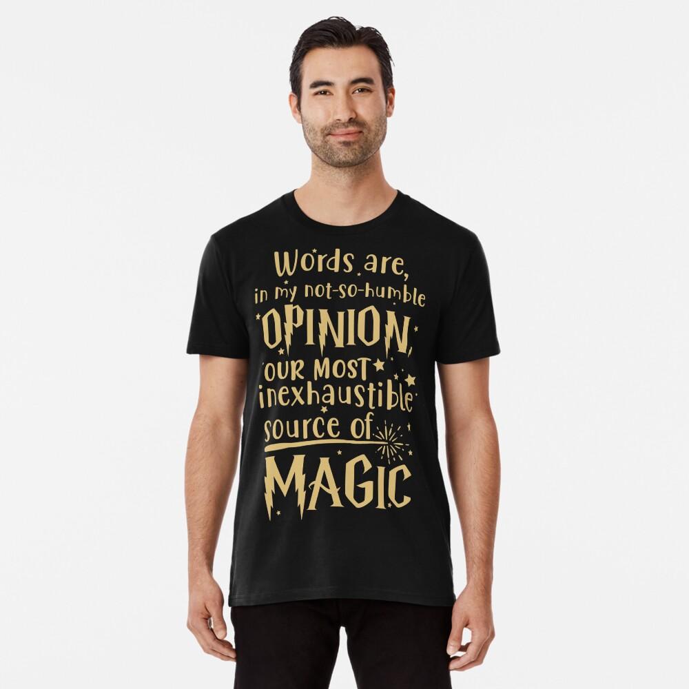 Inexhaustible source of magic Premium T-Shirt
