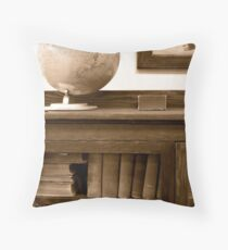 Phileas Fogg , Around the World in 80 Days Throw Pillow