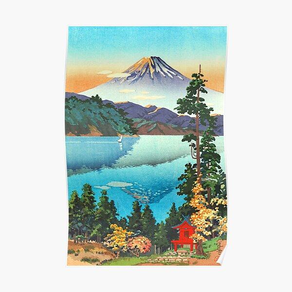 Tsuchiya Koitsu - Lake Ashi in the Hakone Hills Poster