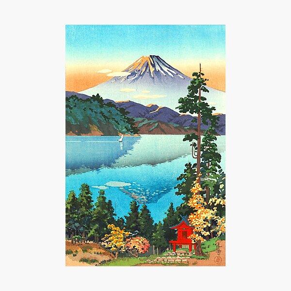 Tsuchiya Koitsu - Lake Ashi in the Hakone Hills Photographic Print