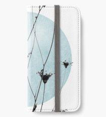wildflowers iPhone Flip-Case/Hülle/Klebefolie