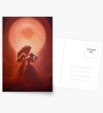 Die Schöne und das Biest 1 Postkarten