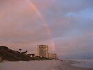 Rainbow in Daytona Beach, Florida by ValeriesGallery