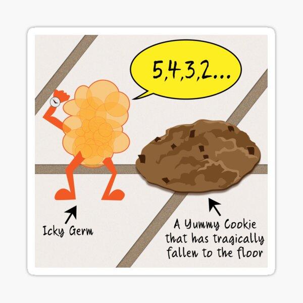 5 Seconds to Germ Warfare Sticker