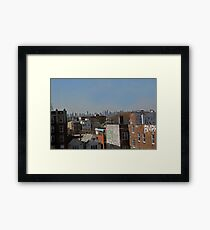 Suburb And City Framed Print
