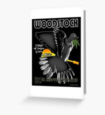 Woodstock 50th Greeting Card