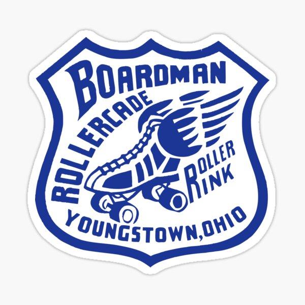 Classic Youngstown: Boardman Rollercade Sticker