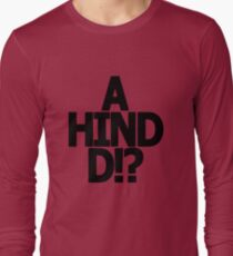 Metal Gear Solid - 'A Hind D!?' Long Sleeve T-Shirt