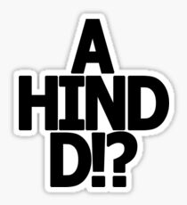 Metal Gear Solid - 'A Hind D!?' Sticker