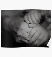 Generations Apart -Holding Hands- Poster