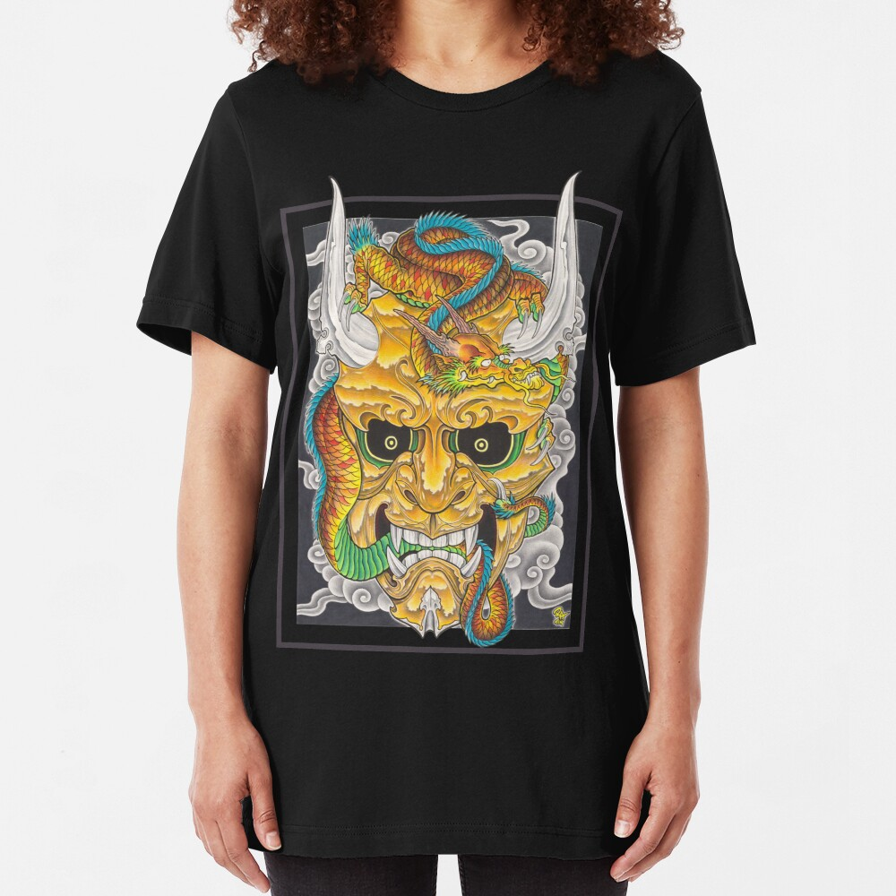 Hanya & Dragon Slim Fit T-Shirt