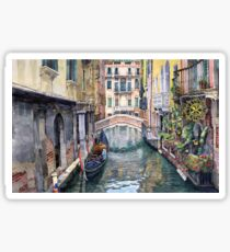 Italy Venice Trattoria Sempione Sticker