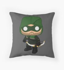 Arrow DC Throw Pillow