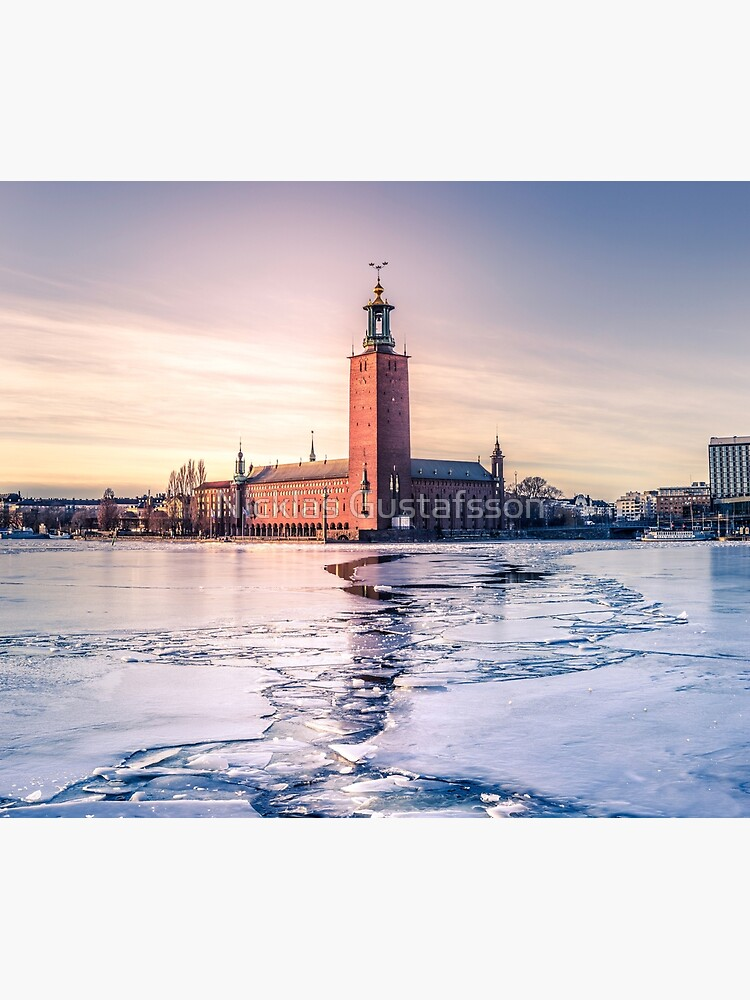 Stockholm City Hall in Winter by Nicklas81