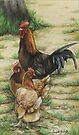 Free Range Chickens by Charlotte Yealey
