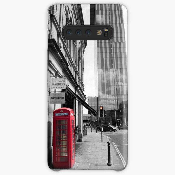 Red Telephone Box and Beetham Tower Samsung Galaxy Snap Case