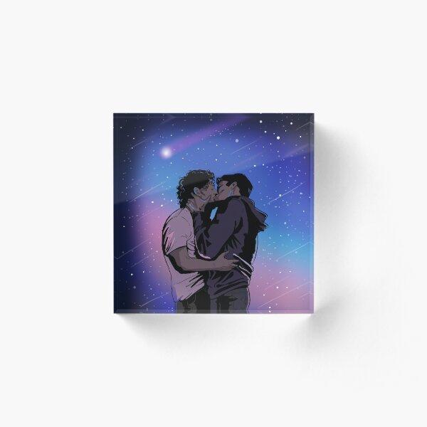 Malex Meteor Kiss Acrylic Block
