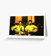 Breaking Bad - Walt and Jessie Greeting Card
