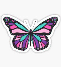 Schilddrüsenkrebs-Schmetterling Sticker