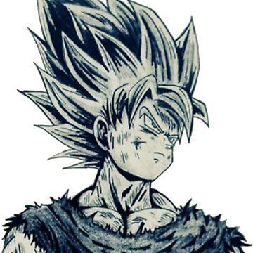 Son Goku Lapiz by Davidisla39