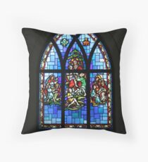 Gather the Children Throw Pillow