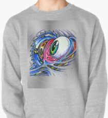 fwc 0156 tatoo Angel eyes fire Pullover