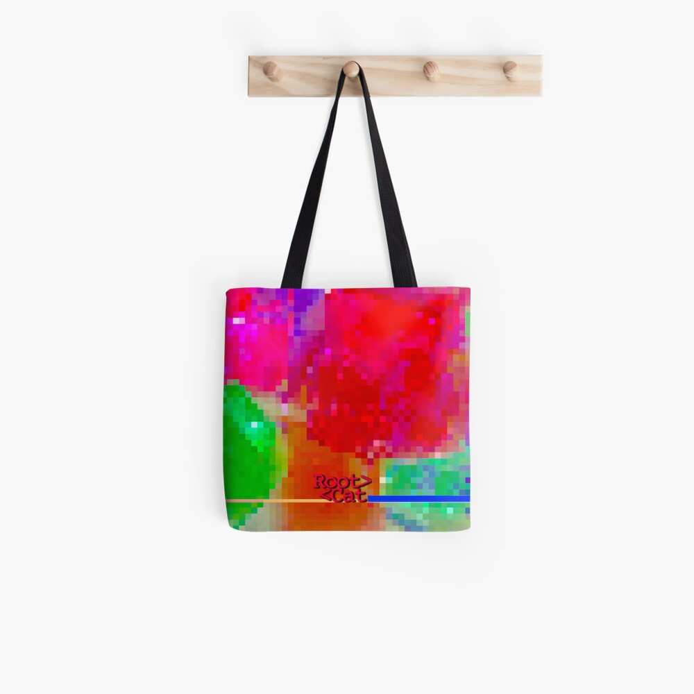 J^LLY M^ [機器間 says] Pixel Art Tote Bag