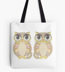 Big-Eyed Twin Cats Tote Bag