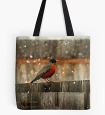 Cold Day Tote Bag