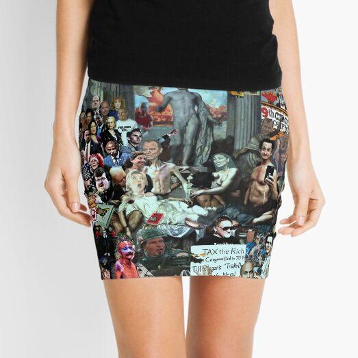 THE DEMOCRATS OF DECADENCE Mini Skirt