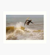 SURFER SURF Art Print