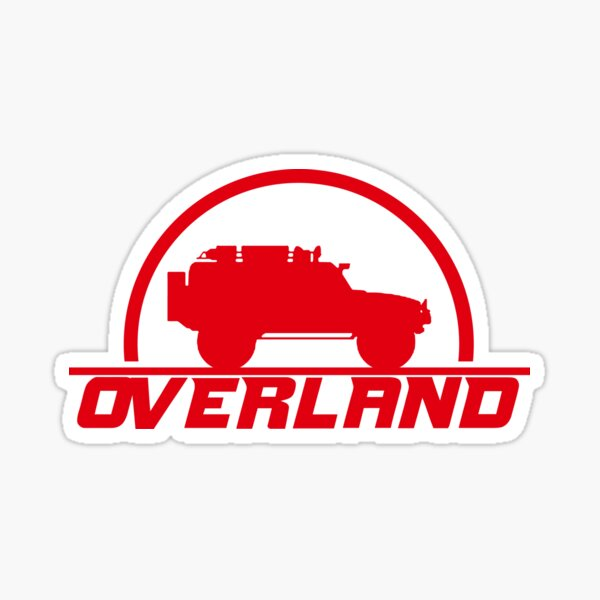 Overland 4X4 | Camper T-Shirt Sticker