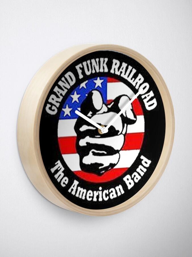 Alternate view of Grand Funk Railroad Clock