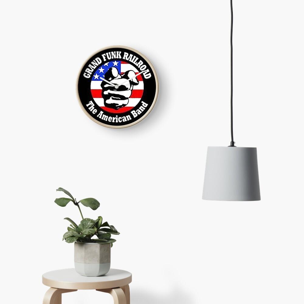 Grand Funk Railroad Clock