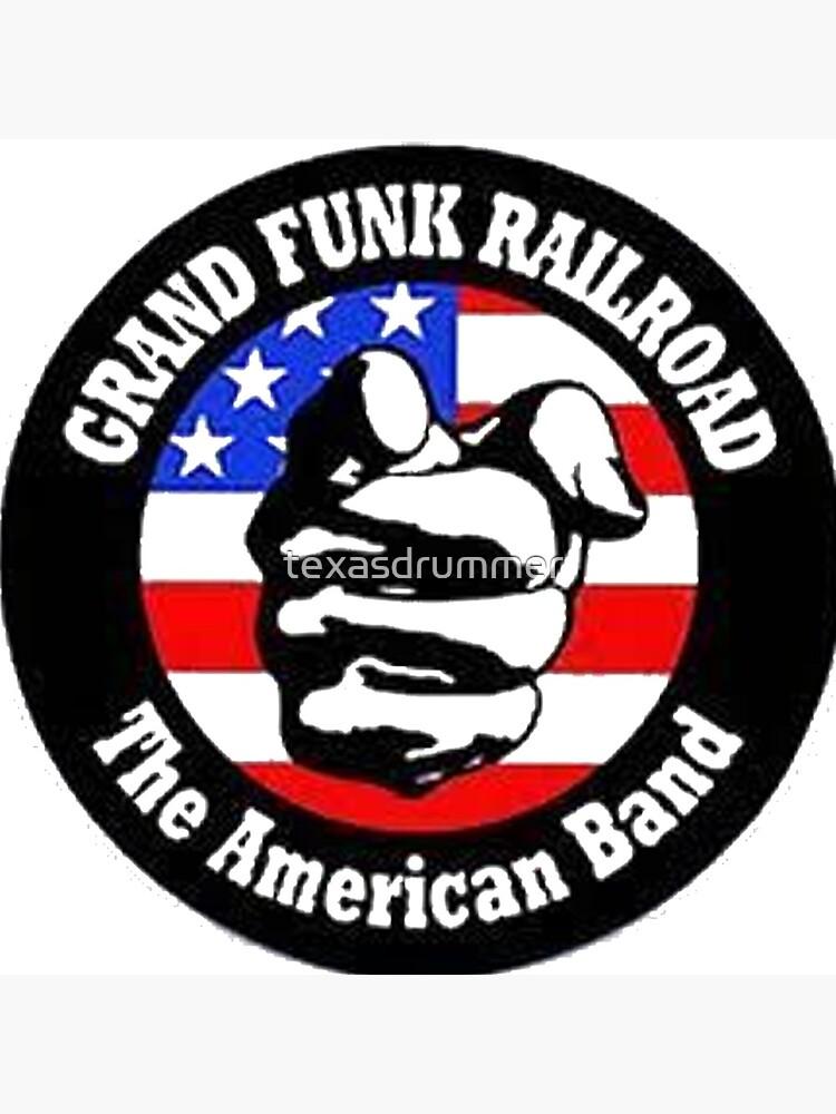 Grand Funk Railroad by texasdrummer