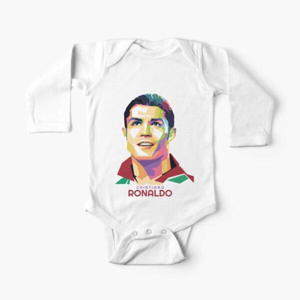 Célébrité Géométrique Cristiano Ronaldo Body manches longues