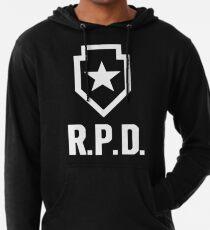 Resident Evil 2: Entfernen Sie das RPD-Logo Leichter Hoodie