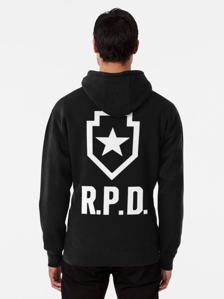 Resident Evil 2: REmake RPD Logo | Sweat à capuche épais