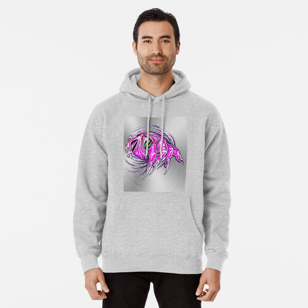 fwc 0158 tatoo Angel eyes Pullover Hoodie Front